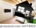 Interior Design Concept - Model House 34478993