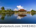 Water Palace Taman Ujung in Bali Island Indonesia 34483463