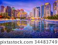 Taichung, Taiwan Skyline 34483749