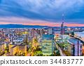 Fukuoka, Japan Skyline 34483777