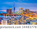Fukuoka, Japan Skyline 34483778