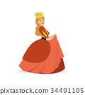 女王 紅色 紅 34491105