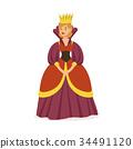 queen crown purple 34491120