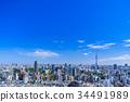 โตเกียวสกายทรีภูมิทัศน์เมือง 34491989