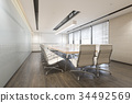 business meeting room on high rise office building 34492569