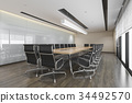 business meeting room on high rise office building 34492570