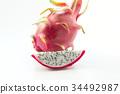 pitaya tropical fruit 34492987