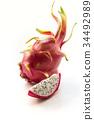 pitaya tropical fruit 34492989