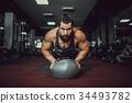 男性 男人 肌肉 34493782