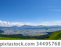 Magnificent view from Mt. Aso Daikanbo 34495768