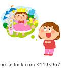 孩子 小朋友 人 34495967