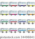 公共汽车 巴士 公车 34496641