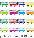 公共汽车 巴士 公车 34496642