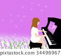 감사의음악,피아노와카네이션 34496967