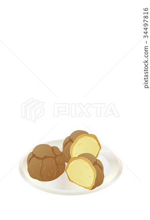 矢量 食物 美食 34497816