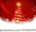 크리스마스 이브, 크리스마스 일루미네이션, 조명 34498300
