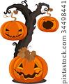 Halloween Pumpkins 34498441