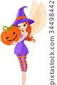 Fairy pumpkin Halloween 34498442