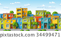 house colorful modern 34499471
