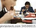 公司職員 工薪族 上班族 34500015