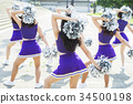 cheerleader, females, female 34500198