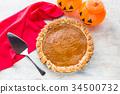 pumpkin, pie, py 34500732