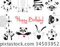 动物 熊 生日 34503952