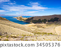 Scenic dramatic landscape on Island of the Sun 34505376