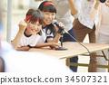 小學 小學生 運動日 34507321