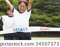 운동회, 달리기, 달리기 경주 34507373