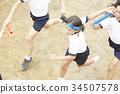 小學 小學生 運動日 34507578