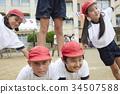 小學生做體操 34507588