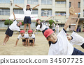 小學生做體操 34507725