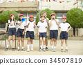 小學 小學生 運動日 34507819