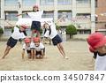 小學生做體操 34507847