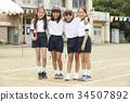 小學生 運動日 夜晚活動日 34507892