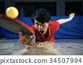 乒乓球運動員的男人 34507994