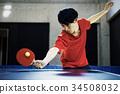 乒乓球運動員的男人 34508032