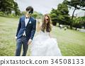 婚礼 新郎新娘 人 34508133