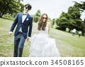 婚禮 新郎新娘 人 34508165