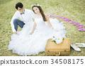 婚礼 新郎新娘 人 34508175