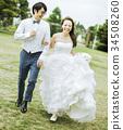 婚礼 新郎新娘 人 34508260