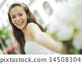 婚礼 新娘 微笑 34508304