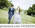 결혼식, 여성, 아시아 34508308