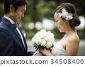 婚礼 新郎新娘 人 34508406