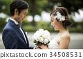 婚礼 新郎新娘 人 34508531