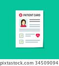 病人 卡片 抠图 34509094