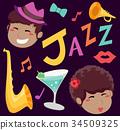 爵士乐 音乐 元素 34509325