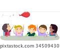 Stickman Kids Physics Activity Balloon 34509430