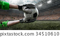 football, player, goal 34510610